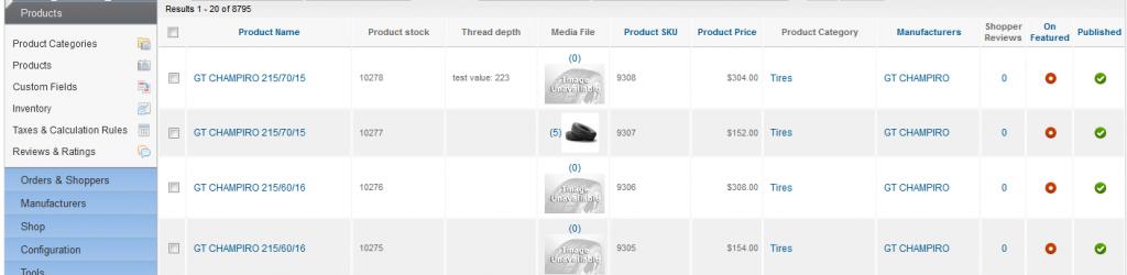 Выводим доп.поля в админке в Product list