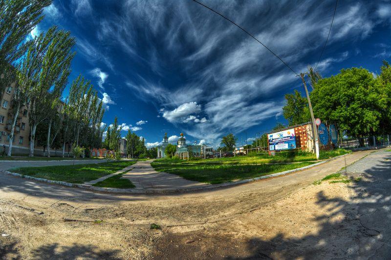 Обработка пейзажных фото
