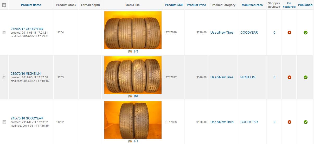 Выводим фото продукта в админке в Product list в Virtuemart 2