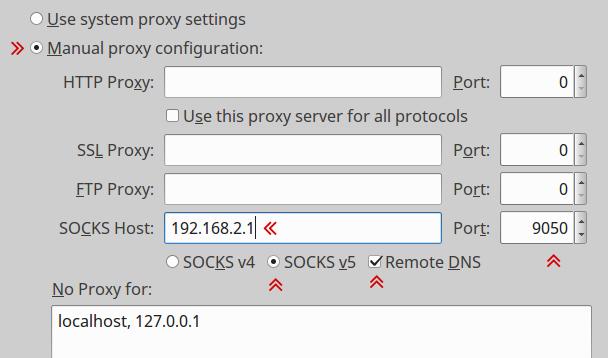 Настройка Tor прокси под Windows