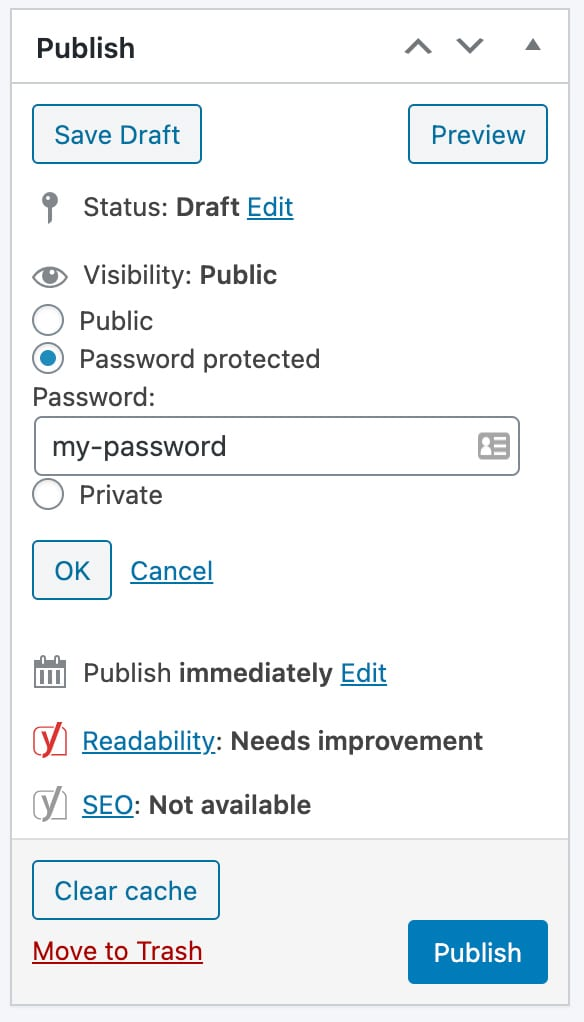 How to Hide or Change Password Protected Message and Form in WordPress