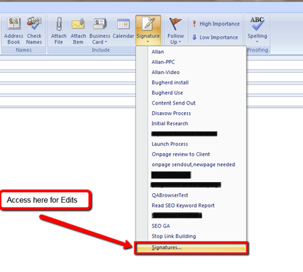 How To Update Your E-Mail Signature
