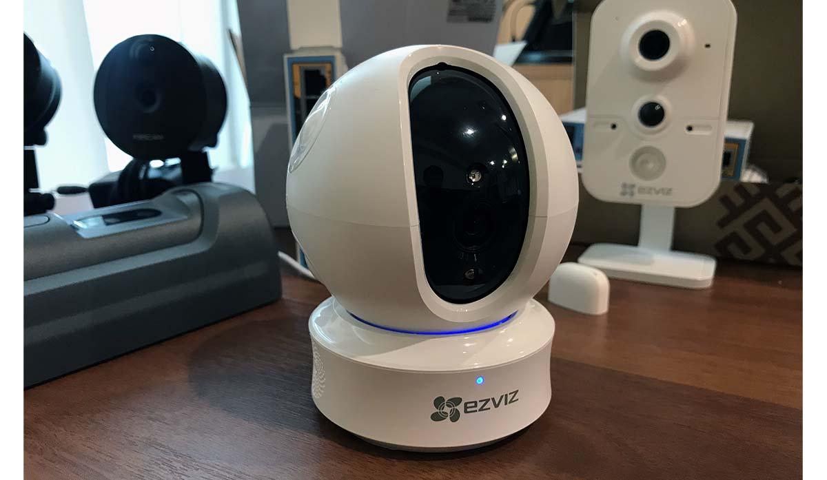 Как подключить беспроводную Wi Fi камеру EZVIZ