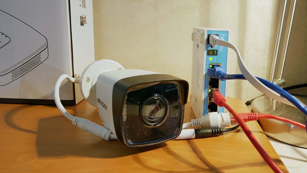 Как подключить камеру видеонаблюдения Hikvision